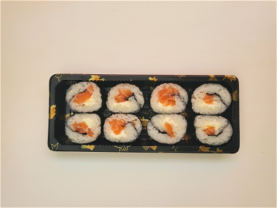 Foto Zalm Roomkaas Roll