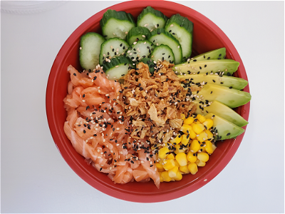 Foto Pokebowl zalm